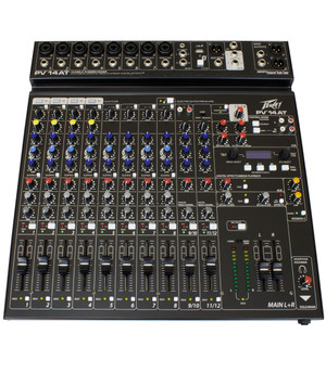 Peavey PV14AT 14-Channel Mixer With Antares Auto-Tune