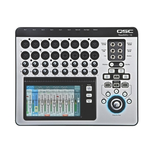 QSC TouchMix16 16-Channel Compact Digital Mixer with Touchscreen