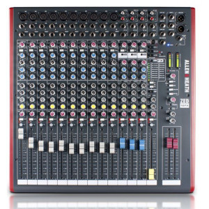 Allen & Heath ZED16FX Mixing Console with USB Port