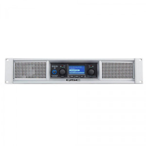 QSC GXD4 1600 Watt Peak 2-Channel Power Amplifier with DSP