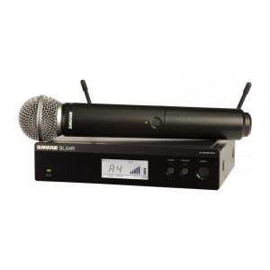Shure BLX24R/SM58 Vocal System with (1) BLX4R Rack Mount Wireless Receiver
