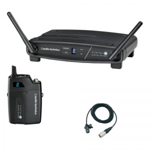 Audio Technica ATW1101L System 10 Series Lavelier Digital Wireless System