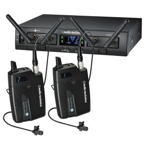 Audio Technica ATW1311L System 10 PRO Series Dual Lavalier Digital Wireless