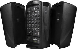 Fender Passport VENUE 10 Channel 600 Watt Portable PA System with USB Playback/Recording