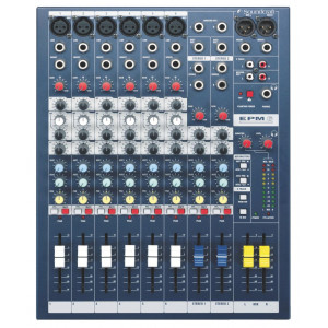 Soundcraft EPM6 6+2-Channel Mixer