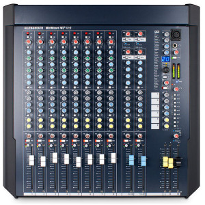 Allen & Heath AHWZ4-12-2 12 Channel Desk and Rack Mountable Mixer