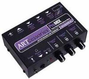 ART PROMIX 3 Channel Microphone Mixer