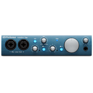 PreSonus AudioBox iTwo 2x2 USB/iPad Recording Interface with MIDI I/O