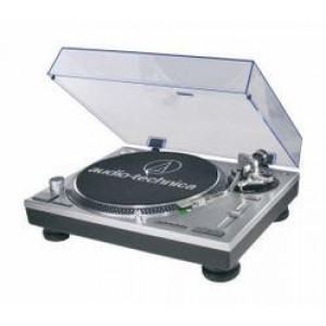 Audio-Technica ATLP120USB Direct Drive Turntable with Preamp and USB Output, 33/45/78 RPM