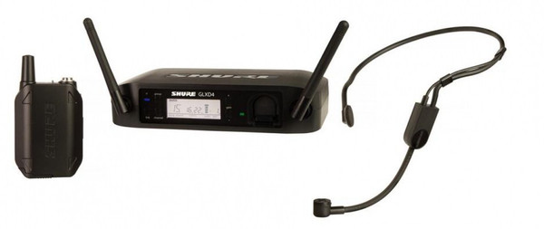 Shure GLXD14/PGA31 Headworn Wireless System with PGA31 Headset Microphone