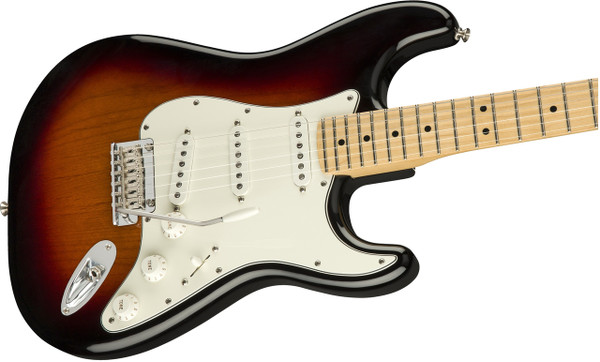 Fender	Player Stratocaster	 Electric Guitar with Maple Fingerboard-3 tone sumburst