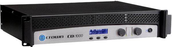 Crown CDi1000 Contractor Series Dual Channel power amplifier