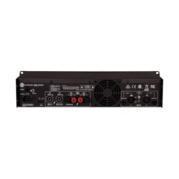 Crown XLS2502 DriveCore2 Series 2-Channel DSP Power Amplifier