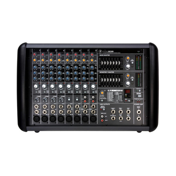 Mackie PPM608 Professional 8-Ch 1000W Powered Mixer