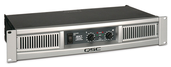 QSC GX7 Series Power Amplifier for Subs or Dual Mains