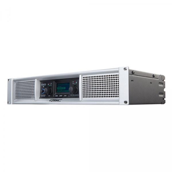 QSC GXD4 1600 Watt Peak 2-Channel Power Amplifier with DSP