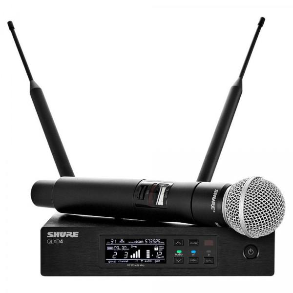 Shure  QLXD24/SM58 Handheld Wireless System (SM58 Mic, Cardioid)