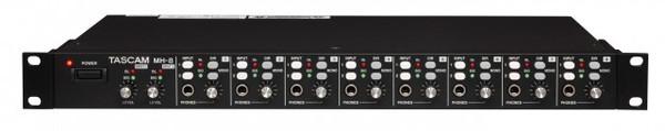 Tascam MH8  Amp Headphone 8 Ch Dual Stereo