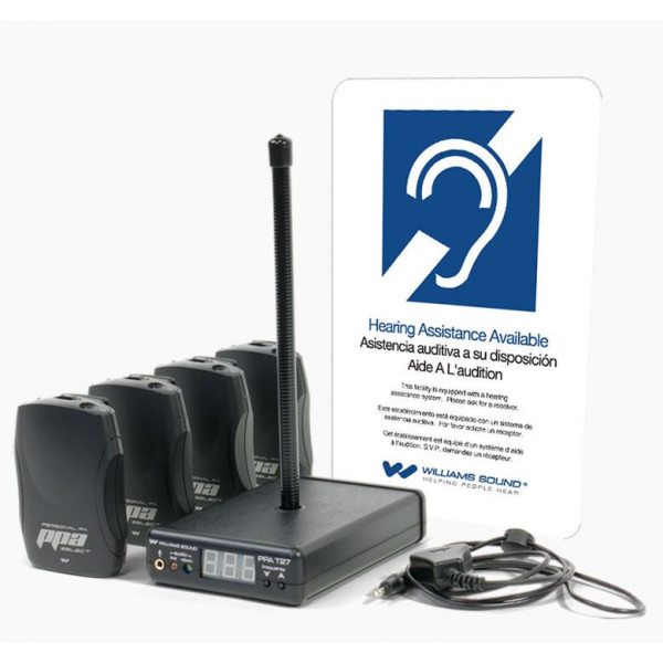 Williams Sound PPAVP37 Personal PA® Value Pack System