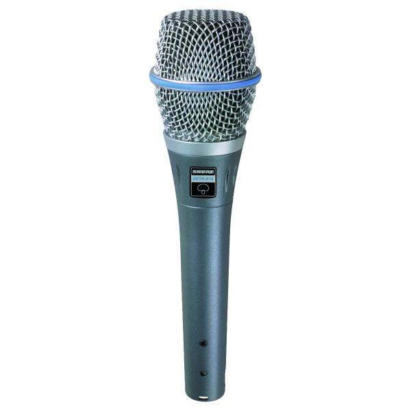 Shure BETA87A Supercardioid Handheld Condenser Microphone