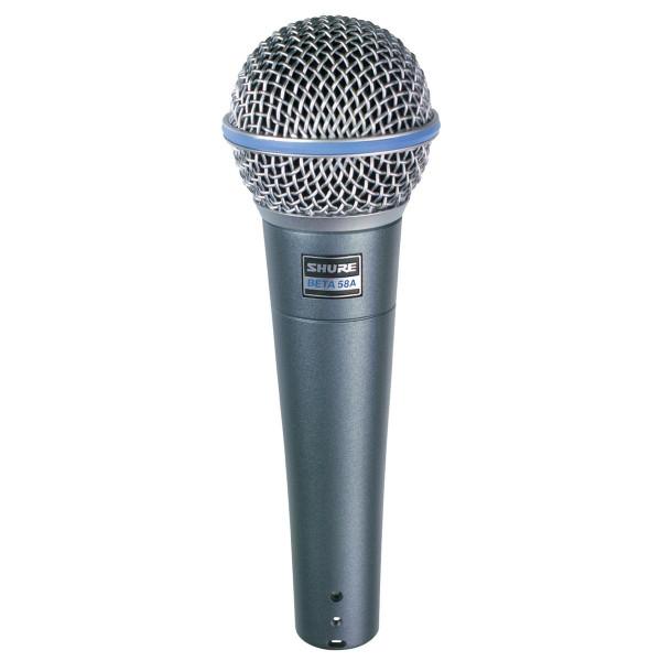 Shure BETA58A vocal microphone