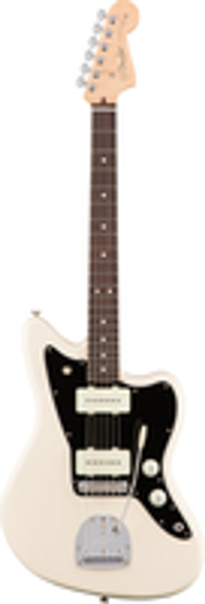 Fender American Professional Jazzmaster Electric Guitar Rosewood Fingerboard Olympic White