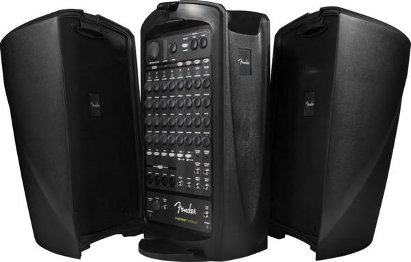 Fender Passport VENUE 10 Channel 600 Watt Portable PA System with USB Playback/Recording