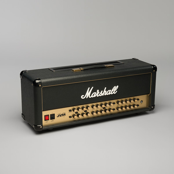 Marshall Amplification JVM410H Joe Satriani Edition 100W 4-Ch Tube Guitar Amplifier Head