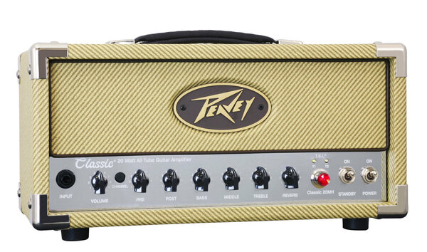 PeaveyClassic 20 Mini Head 20W Compact Tube Guitar Amplifier Head