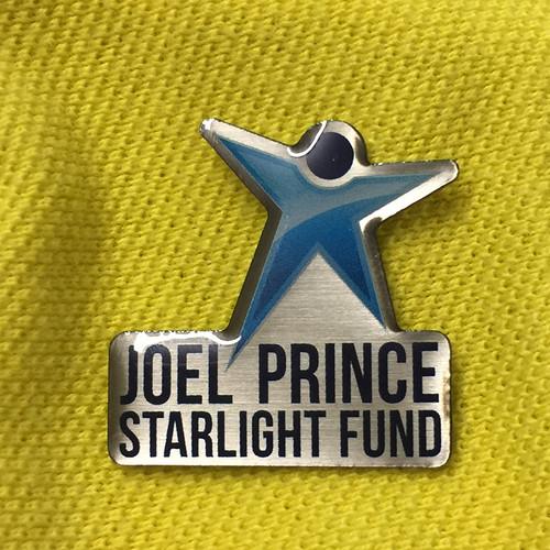 Joel Prince Starlight Fund pin badge