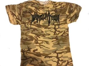 T-Shirt : Desert Camo / Logo