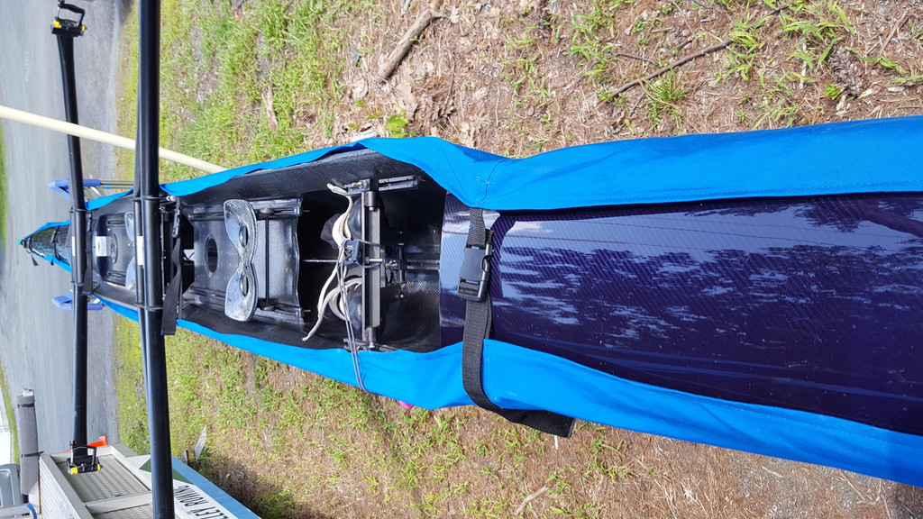 Cover your boat AND keep it fully rigged! Hull-only cover. Easy on & off.