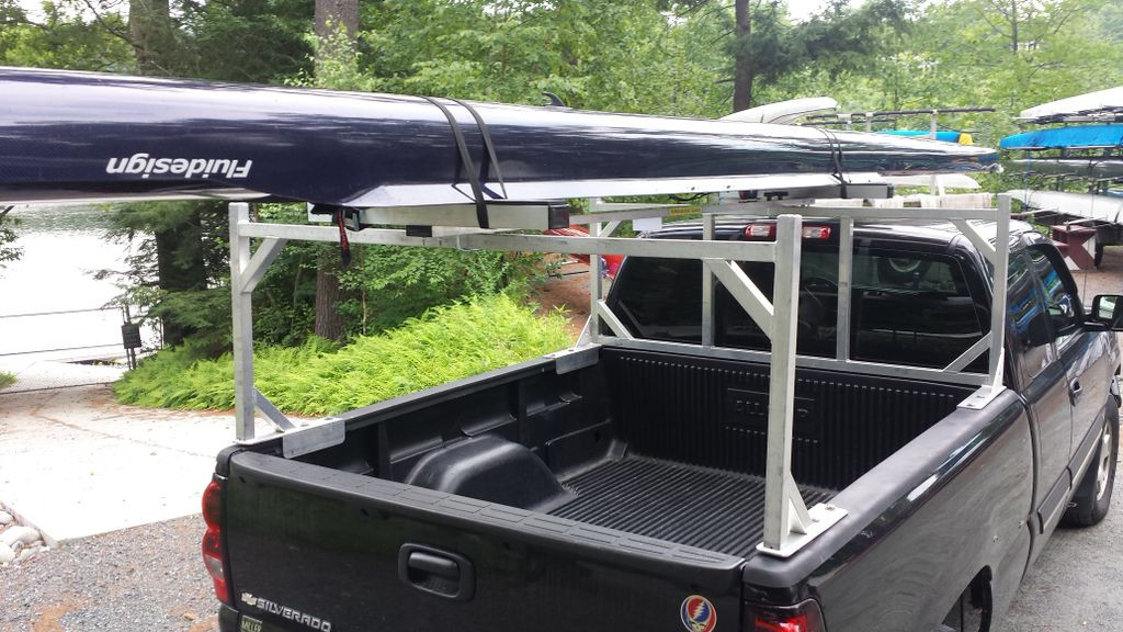 CT 2X System: T-8 Gunwale Rack.  Shown with easily mounted 2X.