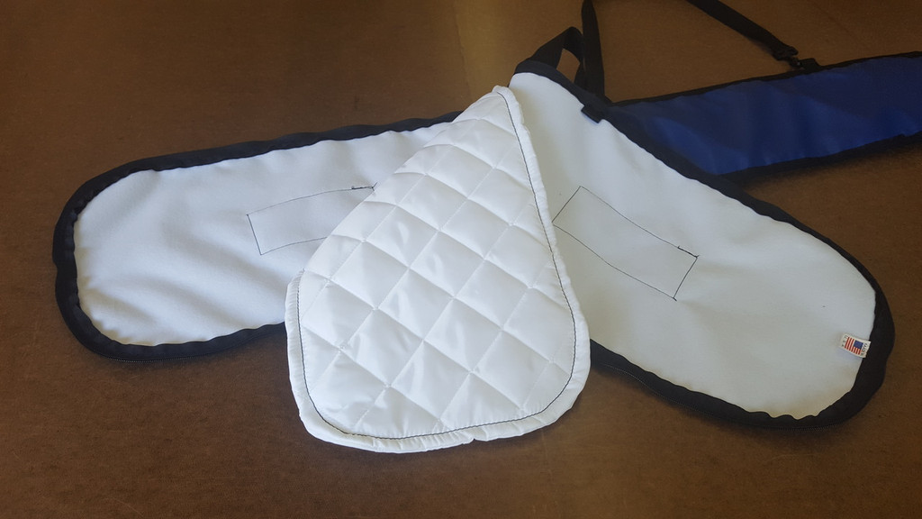 kayak paddle bag interior is a signature quilted nylon lining