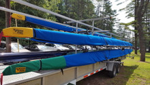 Our rowing shell and paddling covers are proudly made in our New Hampshire factory.