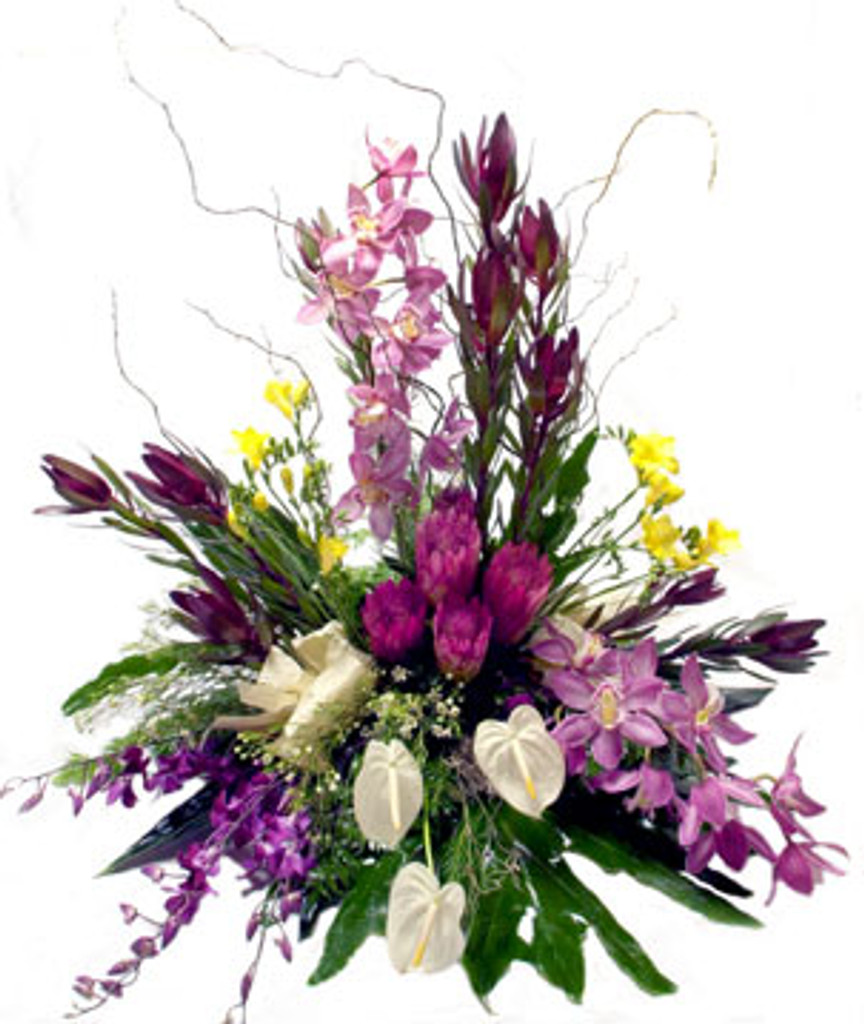 ff4 floral arrangement - - not valid with any discounts