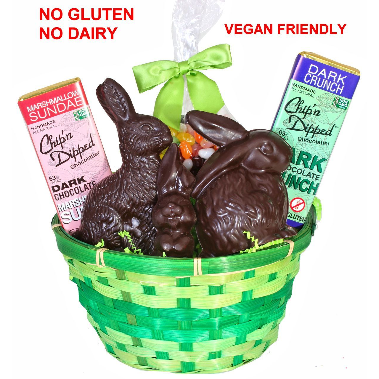 Vegan easter basket chipn dipped chocolatier vegan easter basket negle Image collections