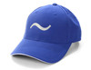 ROYAL BLUE 100% polyester brushed microfiber Six-panel, mid-crown structured, matching sewn eyelets. Pre-curved visor, contrast color sandwich visor. Soft, mesh white nylon lining in crown, Moisture management wicking fabric, self-fabric Velcro® closure. Grey Embroider Logo and Name Preferred Golfers Wear
