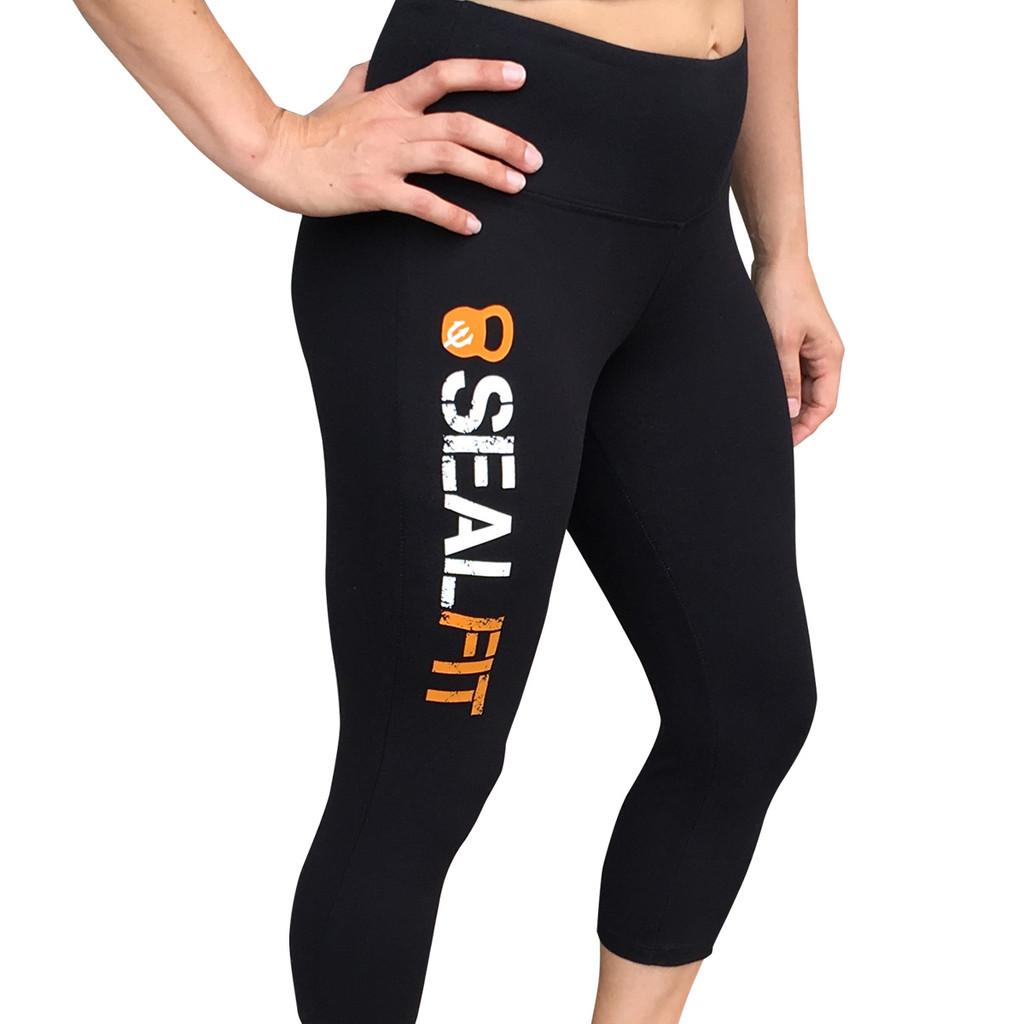 SEALFIT Women's Workout Capri Pants