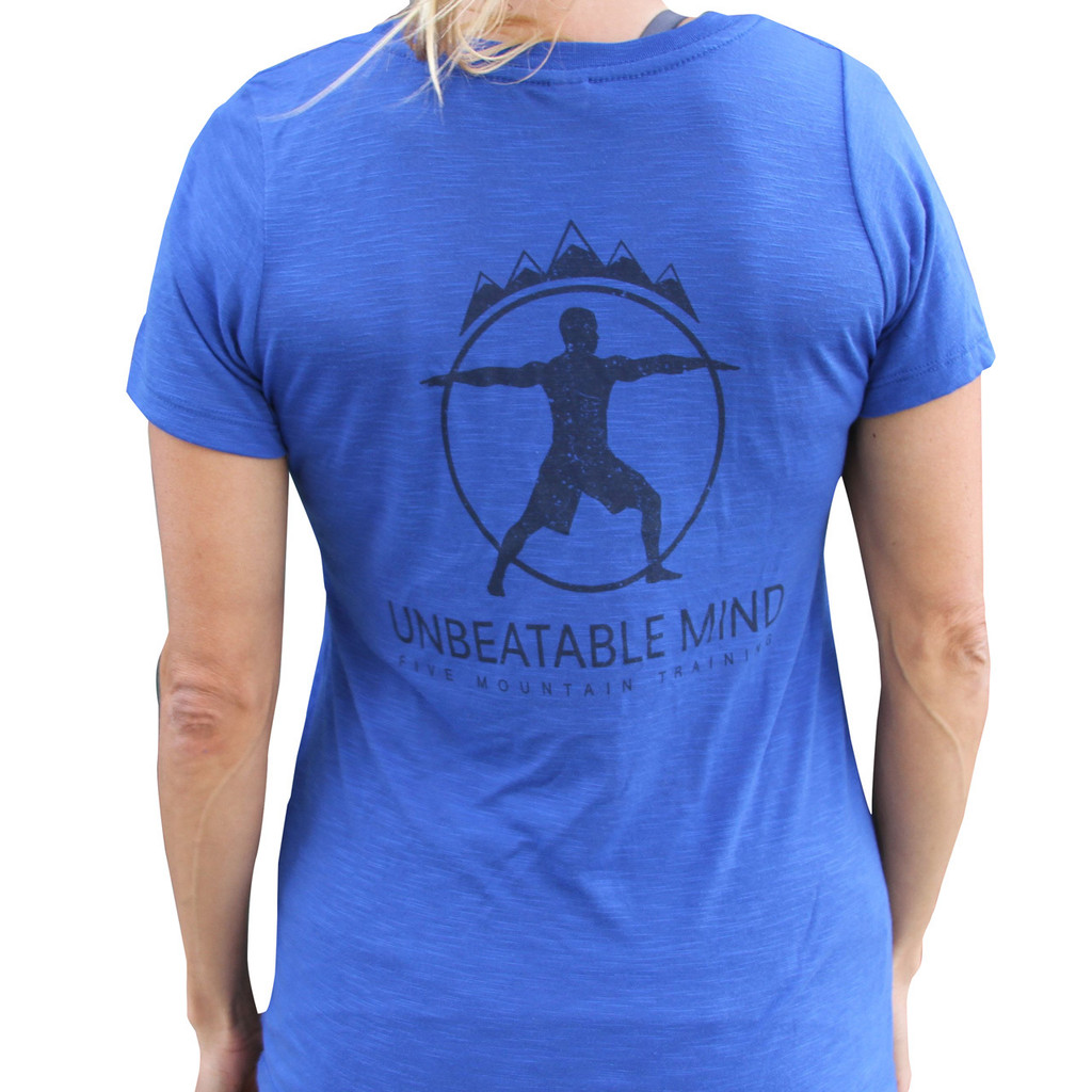 Unbeatable Mind Women's 5 Mountain Shirt