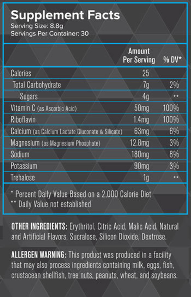 Intensity Nutrition- Hydrate