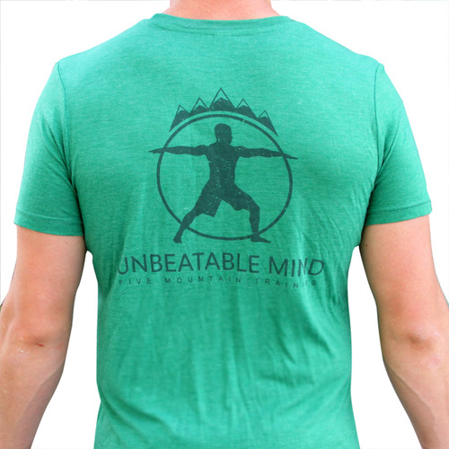 Unbeatable Mind Men's 5 Mountain Shirt