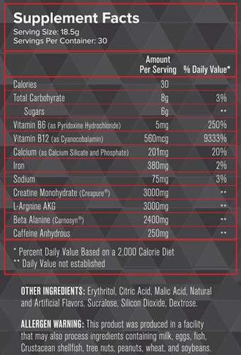 Intensity Nutrition- Fuel