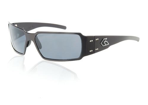 Black Frame w/ Grey Lens