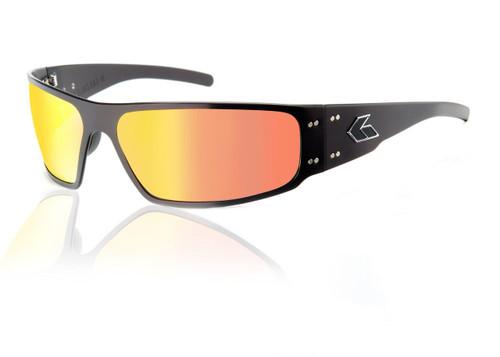 Black Frame w/ Sunburst Lens