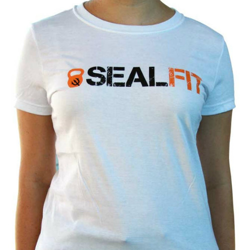 SEALFIT Logo Women's White Shirt