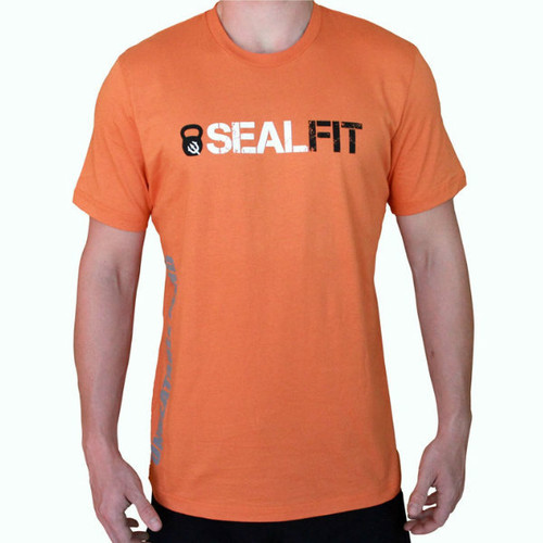 SEALFIT Logo Shirt- Orange