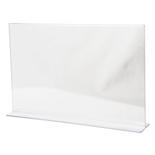 LHC-1711E 17 w x 11 h Clear Acrylic Table Tent  sc 1 st  Buy Acrylic Displays & Sign Holders - Acrylic Plastic Table Tent Wall Holders u0026 Frames