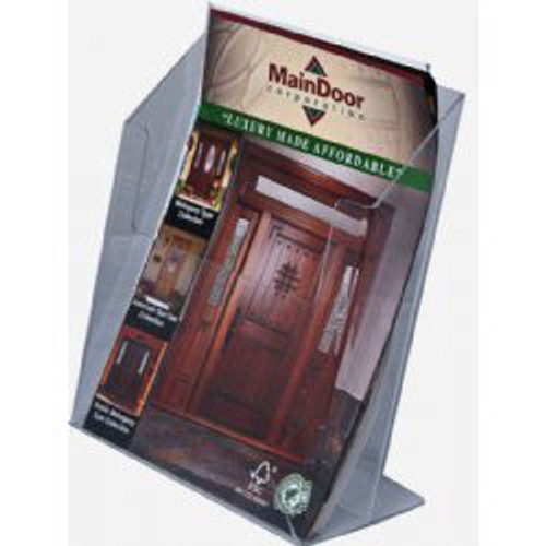 8.5x11 Brochure Holder with 3 inch depth
