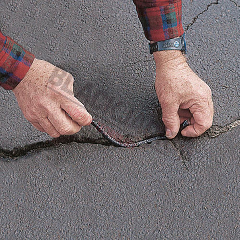 Latex-ite® Crack-Stix Permanent Tarmac, Asphalt, Concrete Filler Application